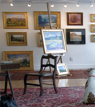 peterborough fine art gallery with works from new england artists