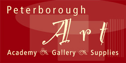 peterborough art academy, gallery, supplies logo